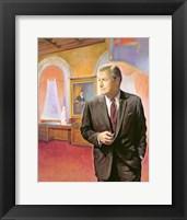 Framed Governor Nelson A. Rockefeller