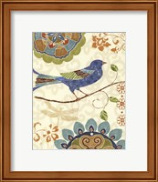 Framed Eastern Tales Birds I