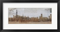 Cities III - New York Framed Print