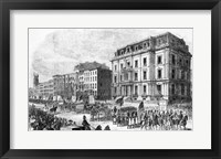 Framed New York City: Demonstration of the Colored Inhabitants of New York in Honor of the Adoption of the Fifteenth Amendment
