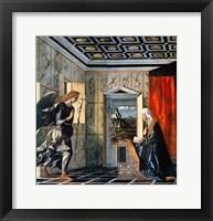 Framed Annunciation