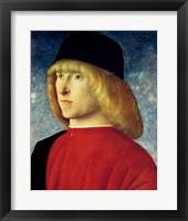 Framed Portrait of a Young Senator