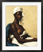 Framed Portrait of a Negress