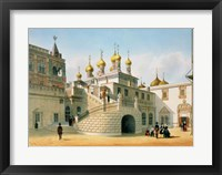 Framed View of the Boyar Palace in the Moscow Kremlin