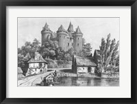 Framed Castle of Combourg