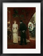 Framed Private Conversation, 1904