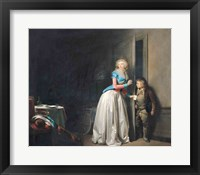 Framed Visit Received, 1789