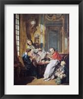 Framed Afternoon Meal, 1739
