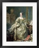 Framed Madame de Pompadour