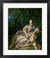 Framed Madame de Pompadour, 1758