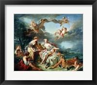 Framed Rape of Europa, 1747