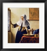 Framed Young Woman with a Water Jug