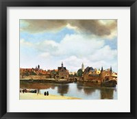 Framed View of Delft