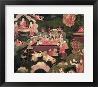 Framed Parinirvana, from 'The Life of Buddha Sakyamuni'