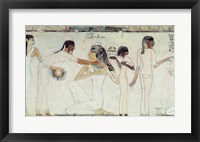 Framed Toilet of Noblewomen, from the Tomb of Rekhmire