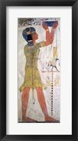 Framed Inmutef priest making an offering