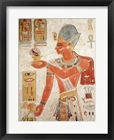 Framed Ramesses III