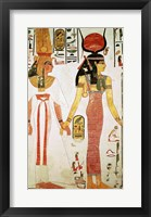 Framed Isis and Nefertari, from the Tomb of Nefertari