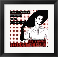 Today Fashion Framed Print