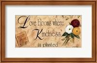 Framed Love Blooms