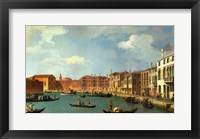 Framed View of the Canal of Santa Chiara, Venice