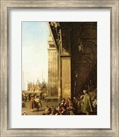 Framed Venice: Piazza di San Marco and the Colonnade of the Procuratie Nuove