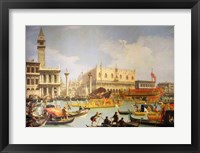 Framed Betrothal of the Venetian Doge to the Adriatic Sea