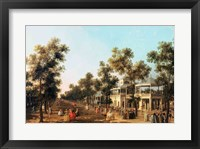 Framed Vauxhall Gardens: the Grand Walk