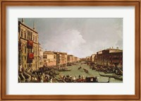Framed Regatta on the Grand Canal