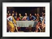 Framed Last Supper, 1648