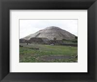 Framed Pyramid of the Sun
