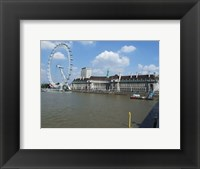Framed London Eye and the Aquarium