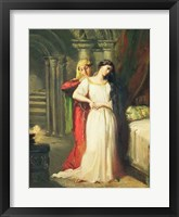 Framed Desdemona Retiring to her Bed, 1849
