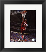 Framed Dwyane Wade Game 3 of the NBA 2011 Finals Action(#11)