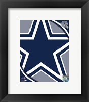 Framed Dallas Cowboys 2011 Logo
