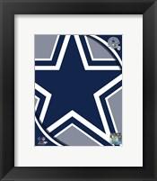 Framed Dallas Cowboys 2011 Logo