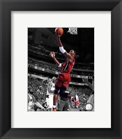 Framed Chris Bosh Game 3 of the 2011 NBA Finals Spotlight Action