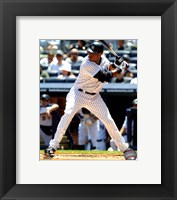 Framed Robinson Cano 2011 Action