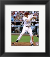 Framed Stephen Drew 2011 Action