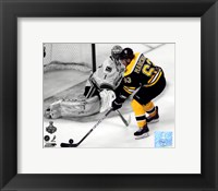 Framed Brad Marchand Game 3 of the 2011 NHL Stanley Cup Finals Spotlight Action