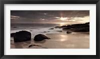 Framed Midnight Sunset