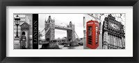 Framed Glimpse of London