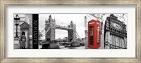 Framed Glimpse of London