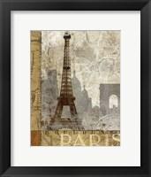 Framed April In Paris