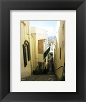 Framed Capri Alley