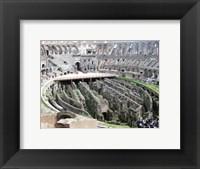 Framed Coloseum Ruins