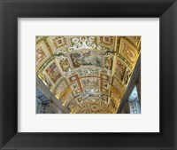 Framed Vatican Museum Painted Ceiling