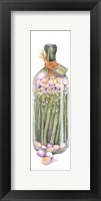 Framed Asparagus Vinegar