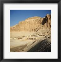 Framed Temple of Hatshepsut Deir El Bahri Thebes Egypt