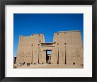 Framed Temple of Horus, Edfu, Egypt